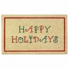 Welcome Mat / Doormat Happy Holidays