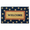 Welcome Mat / Doormat Patriotic Theme