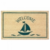 Welcome Mat Sailboat