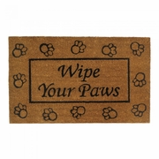 Welcome Mat  Wipe Your Paws