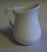 HIC White Porcelain Pitcher  4oz