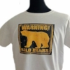 Wild Bears T-Shirt  Plus Size White