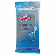 Windex Electronics Pre-Moistened Wipes  25/pk  12pk/case
