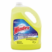 Windex Multi-Surface Disinfectant Cleaner, 1 gal Bottle, 4/Carton