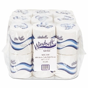 Windsoft® Embossed 2ply  Bath Tissue   18/rolls  FREE SHIPPING