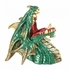 Wine Bottle Holder Green Dragon Drinking Wine