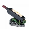 Wine Bottle Holder Green Dragon Hand