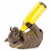Wine Bottle Holder Playful Elephant