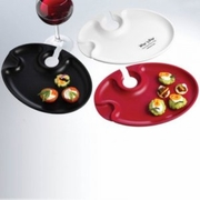 Prodyne Wine 'n  Dine Party Plates