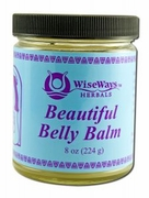 WiseWays Herbals Beautiful Belly Balm 8oz
