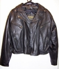 Womens Tailored Leather Motorcycle Jacket Medium 10291