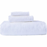 Wyndham House™ 3pc White Bath Towel Set