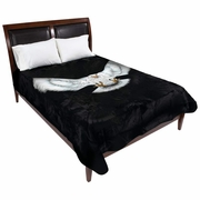 Wyndham House™ Eagle Blanket  Fits Queen or King