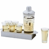 Wyndham House Shaker and  Shot Bar Set   8pc