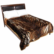 Wyndham House™ Tiger Print Heavy Luxury Blanket