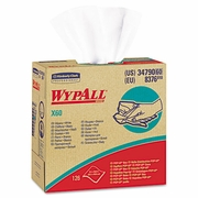 WypAll  X60 HYDROKNIT Wipers,  9 1/8 x 16 4/5, 126/Box 10 Box/Case