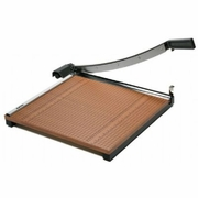 X-Acto� Wood Base Guillotine Paper Cutter 18 x 18