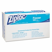 Ziploc® Commercial Resealable Bags 2-Gallon Size Freezer Bags 100/ctn  FREE SHIPPING