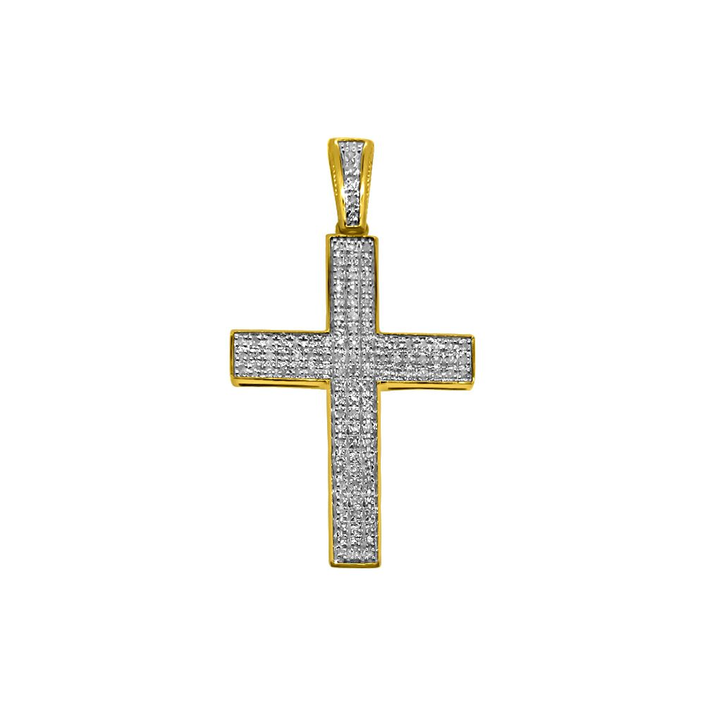 10k gold 23cttw diamond triple bling cross 10k gold diamond 10k gold 23cttw diamond triple bling cross aloadofball Choice Image