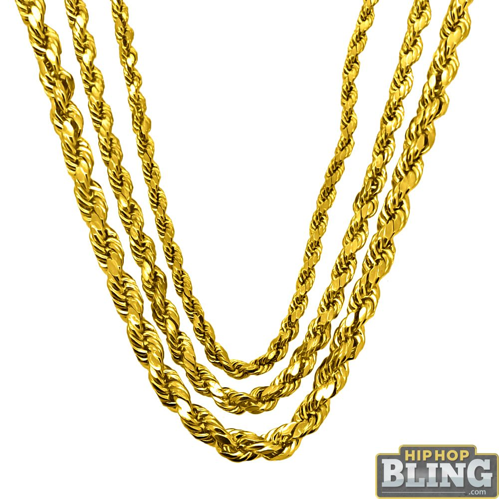 Real Gold Hip Hop Jewelry