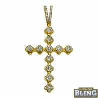 14K Gold Diamond Pendants