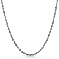 2MM Rope Chain 316L Stainless Steel