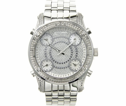 5 Timezone JoJino .25cttw Diamond Watch