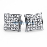 .72ct Diamond Kite Earrings 316L