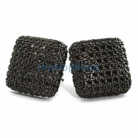 Black Bling Bling Earrings