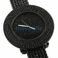 Black Iced Out Watches