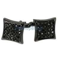 Black Kite Mens Bling Bling Cufflinks
