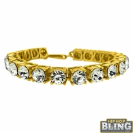 Bling Bling 8MM Bracelet Gold