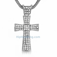 Bling Bling Tie Cross & Chain Small