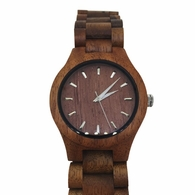 Brown Wooden Watch