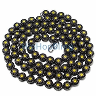 Cluster Bumble Bee Black Bling Bling Chain