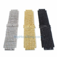 Custom 8 Row CZ Iced Out Watch Band