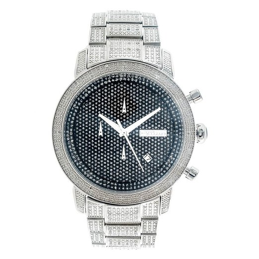 Diamond JoJino Watch Black Dial 1.05 Carats