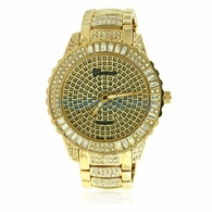 Gold Bling Bling Watches