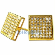 Gold Vermeil .925 CZ Earrings