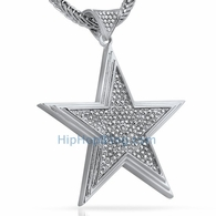 Hip Hop Super Star Bling Bling Pendant