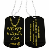 HipHopBling Promotional Dog Tag