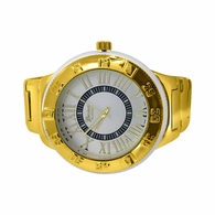 Huge Gold Elegant Fashion Watch