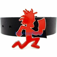 ICP Insane Clown Posse Red Enamel Hatchet Man Belt Buckle