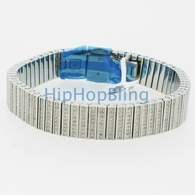 Joe Rodeo 5.50cttw Genuine Diamond Iced Out Bracelet 316L