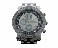 JoJino .25cttw Diamond Watch Black Ring Dial