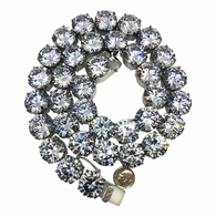 Jumbo 20MM CZ Bling Tennis Chain Never Fade