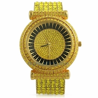 Lemonade Baguette Baller Icey Bling Bling Watch