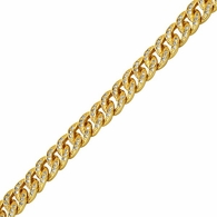 Miami Cuban CZ 8MM Gold Bling Bling Chain