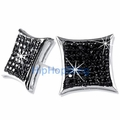 .925 Silver Micro Pave Earrings 2