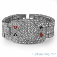 Poker Bracelet Texas Hold Em Bling Bling